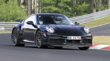 Porsche 911 Turbo Hybrid - front