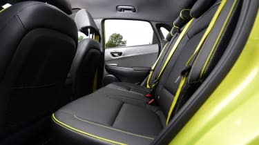 hyundai kona rear seat legroom