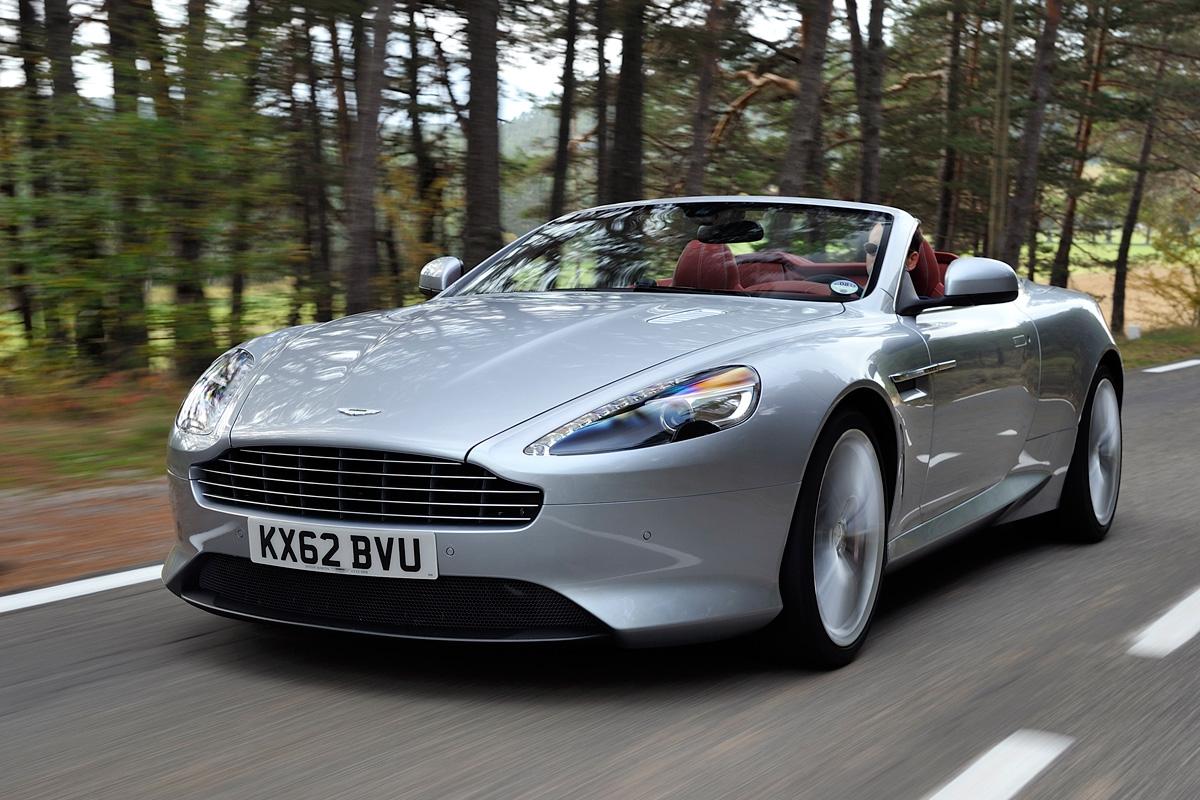 Aston Martin Db9 Volante Review Auto Express