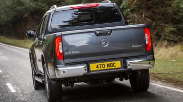 Mercedes X-Class review - rear quarter