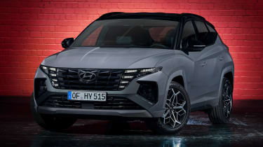 Hyundai Tuscon N Line - front