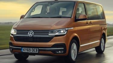 Volkswagen Caravelle - front tracking