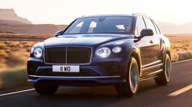 Fastest SUVs in the world - Bentley Bentayga Speed
