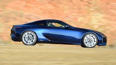 Lexus LC 500h - side