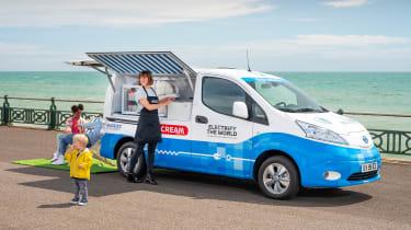 Nissan ice cream van - static