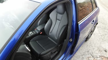 Audi RS3 - long-term - front seat