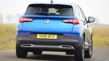 Vauxhall Grandland X long termer - fourth report rear