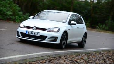 VW Golf GTI - cornering