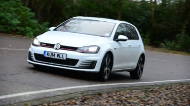 VW Golf GTI - cornering