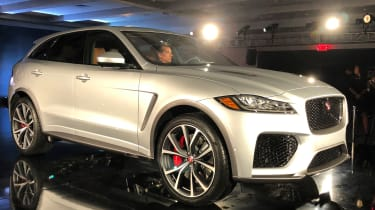 Jaguar F-Pace SVR - launch front