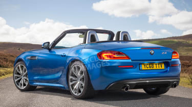 BMW Z4 - rear (exclusive images)