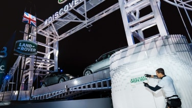 Land Rover Discovery launch - bridge