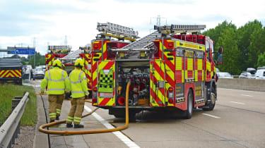 Highways England - fire engine