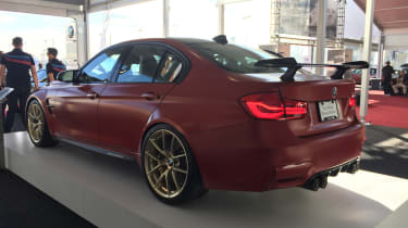 BMW M3 30th Anniversary US - rear