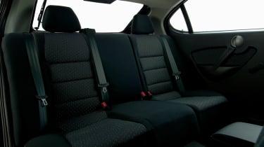 Proton Gen-2 hatchback rear seats