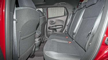 Nissan Juke - rear seats