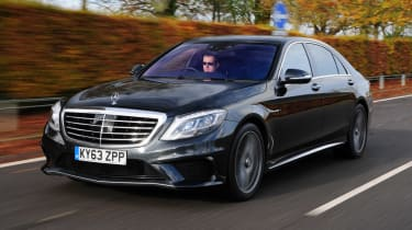 Mercedes S63 AMG front