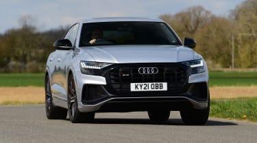 Audi SQ8 - front cornering