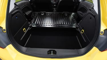 Vauxhall Corsa - rear seats down