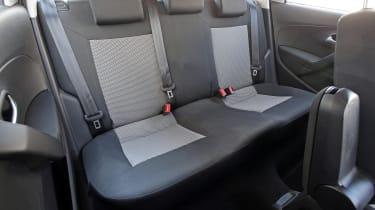 Used Volkswagen Polo - rear seats