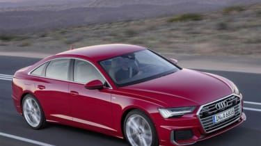 Audi A6 - leaked front