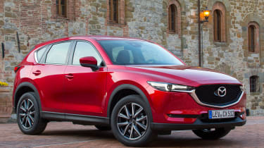 Mazda CX-5 2017 - manual Tuscany front quarter