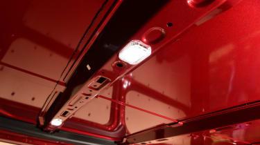 Ford Transit Custom PHEV long-termer second report - lights
