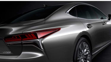 Lexus LS official rear