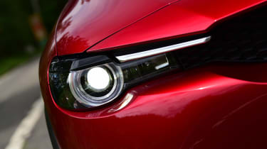 Mazda MX-30 long termer - first report front lights