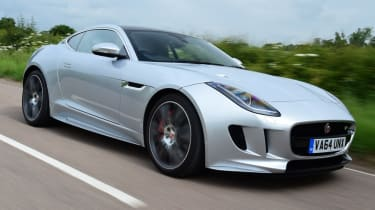 Jaguar F-Type R Coupe front quarter