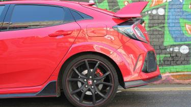 Honda Civic Type R GT - rear end