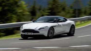 Aston Martin DB11 V8 - front cornering