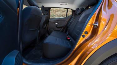 Dacia Sandero Stepway long termer - first report rear seats