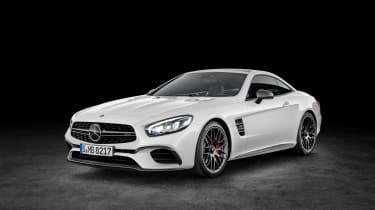 Mercedes SL facelift 2015 16