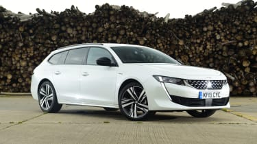 Peugeot 508 SW estate static