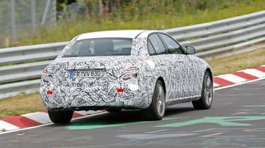 Mercedes E-Class 2016 spies rear