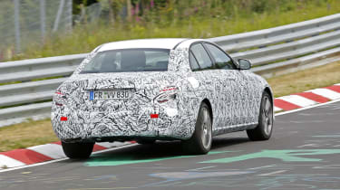 Mercedes E-Class 2016 spies rear
