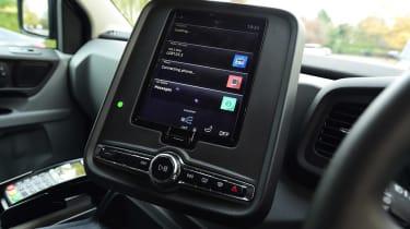 LEVC TX London Taxi - infotainment screen