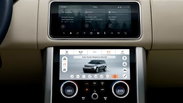 Updated Range Rover - infotainment