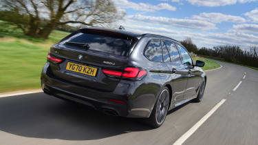 BMW 5 Series Touring - rear