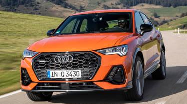 Audi Q3 Sportback - front tracking