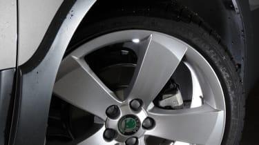 Skoda Fabia Scout wheel