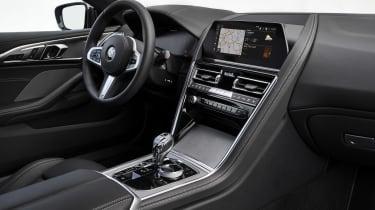 BMW M850i interior