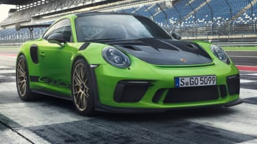New Porsche 911 GT3 RS green