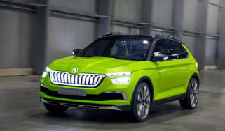 Skoda Vision X concept - front