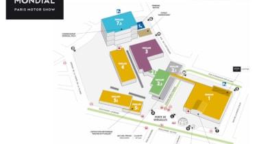 Paris Motor Show 2018 plan