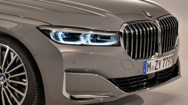 BMW 7 Series facelift - grille