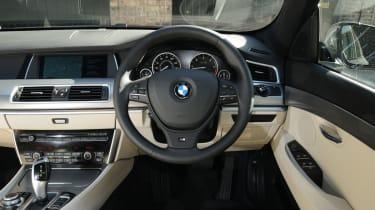 BMW 5 Series GT dash