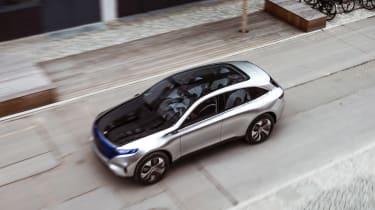 Mercedes EQ Concept - above