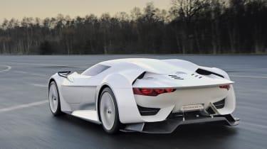 Citroen GT - rear